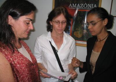 Articulação com Ministra Marina Silva pela aprovação do PL Mata Atlântica.