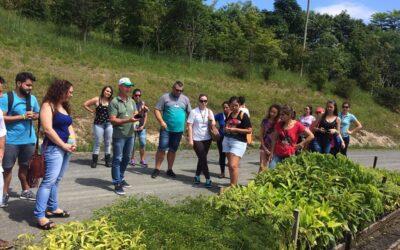 Grupo Marista visita a Apremavi