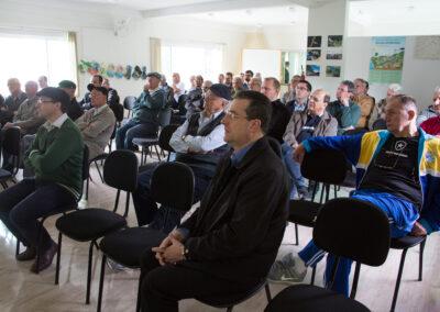 Representantes da Diocese de Rio do Sul visitam a Apremavi. Foto: Wigold B. Schaffer.
