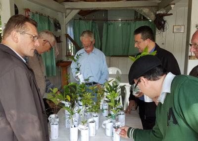 Apremavi distribui mudas de árvores nativas durante visita da Diocese de Rio do Sul. Foto: Wigold B. Schaffer.