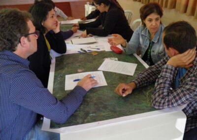 Grupo de trabalho - Reserva. Foto: Marcos Alexandre Danieli.