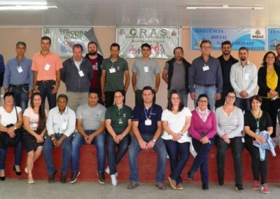 Participantes da oficina. Foto: Paulo Santana.