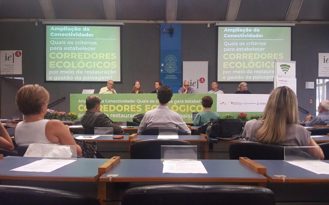 Apremavi ajuda a debater ampliação da Conectividade da Paisagem em Workshop na USP