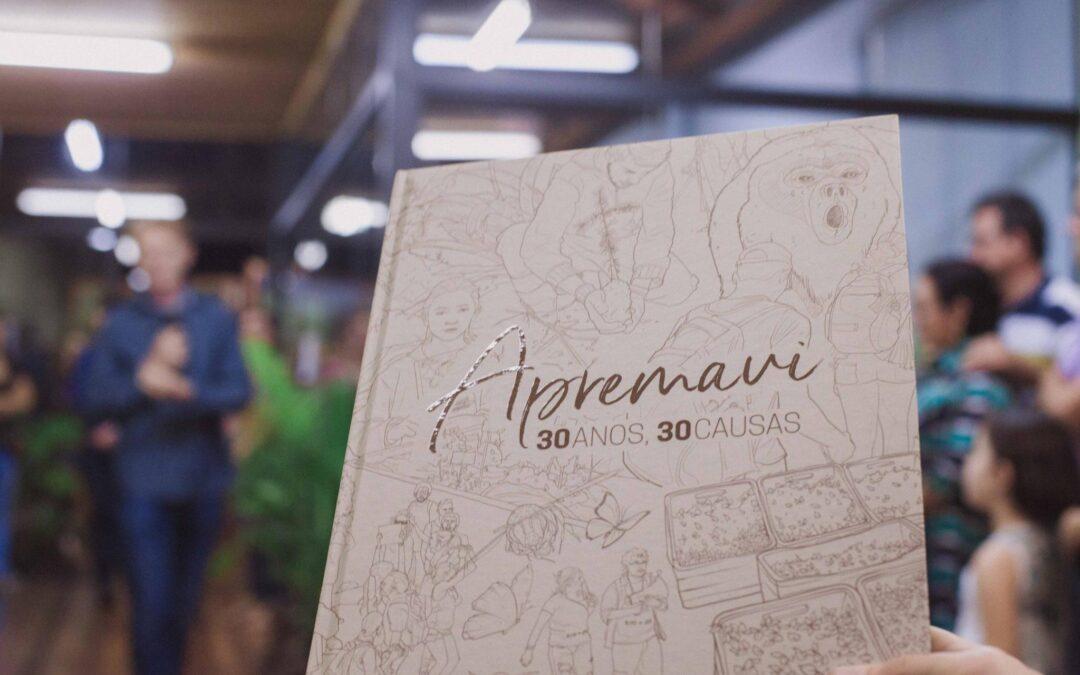 Livro Apremavi – 30 anos, 30 causas é lançado na Fundação Cultural de Rio do Sul