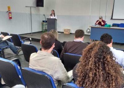 Abertura da reunião de formação do Conselho do PN dos Campos Gerais. Foto: Acervo Apremavi/ICMBio.