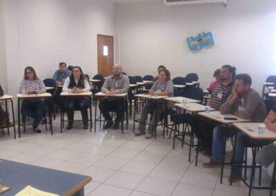 Setor de turismo e cultura na reunião de formação do Conselho do PN dos Campos Gerais. Foto: Acervo Apremavi/ICMBio.