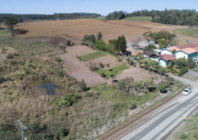 Vista aérea do futuro Parque dos Senécios. Foto: Arquivo Apremavi.
